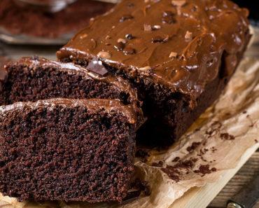 Fudgy Dark Chocolate Cake