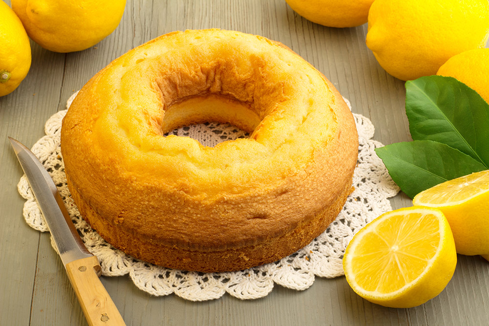 Italian Cake with Limoncello and Mascarpone