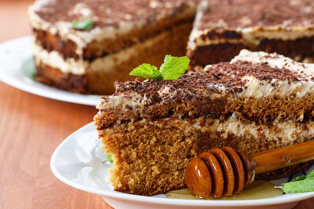 Moist Honey Cake