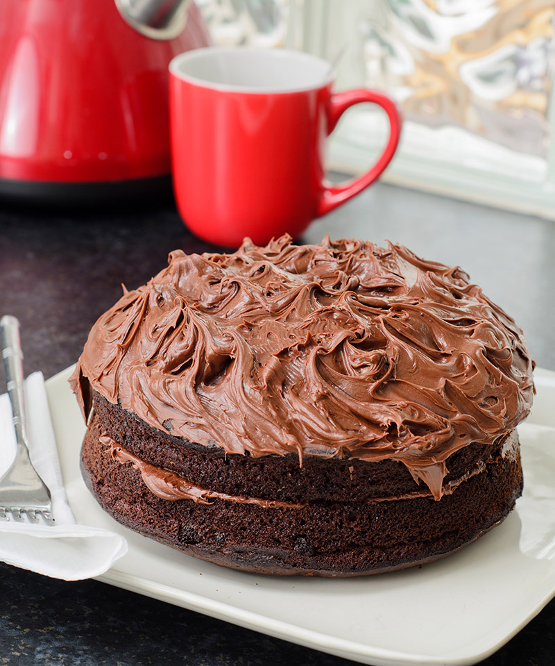 Double Chocolate Sandwich Cake
