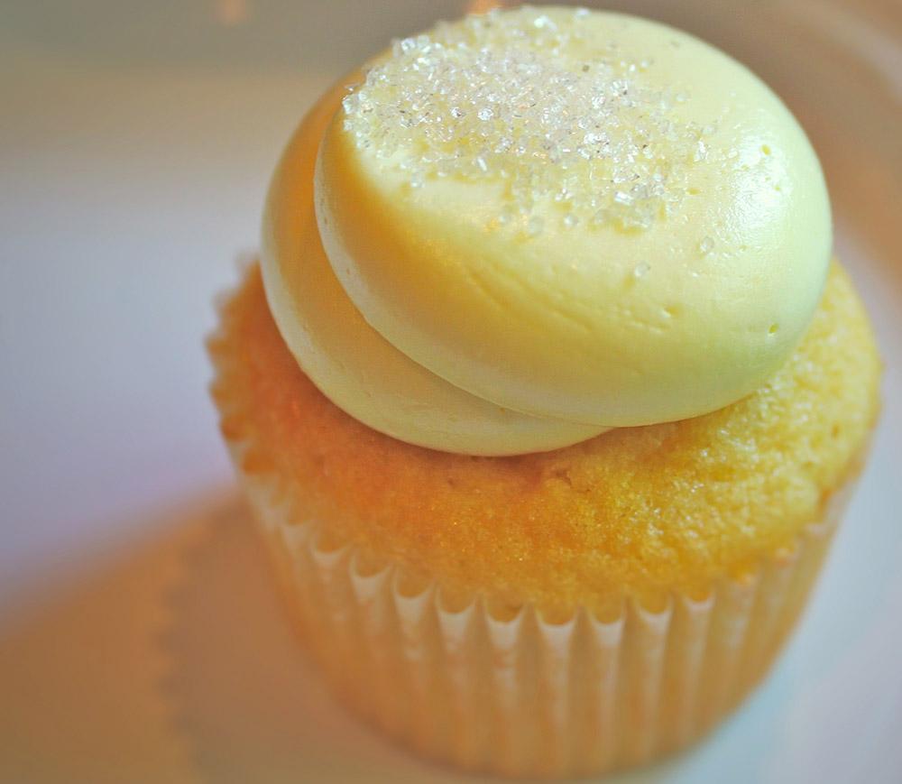 Italian Limoncello Cupcakes