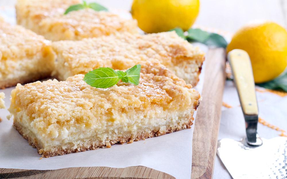 Tasty Lemon Bars Recipe