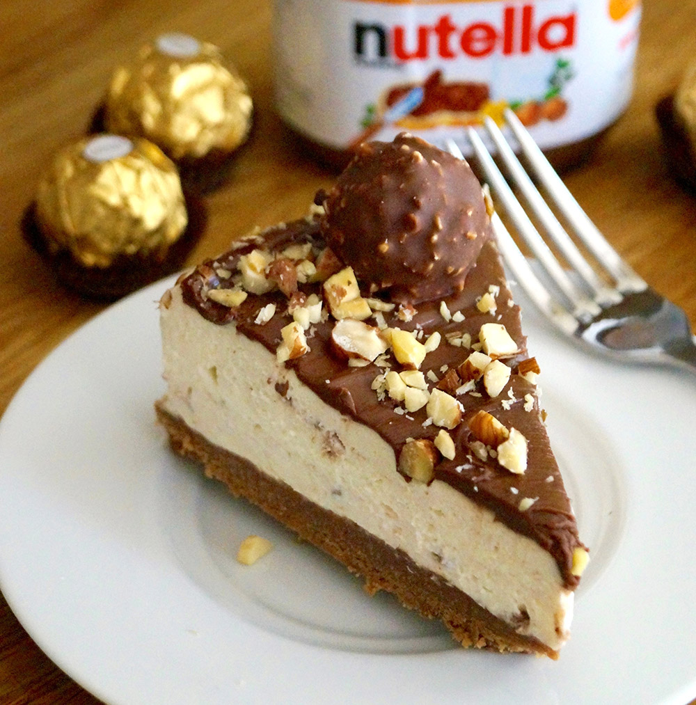 Quick Ferrero Cheesecake Recipe