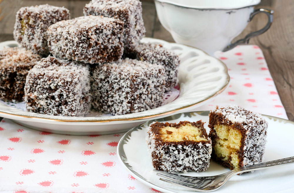 Lamingtons – Simple Australian Dessert