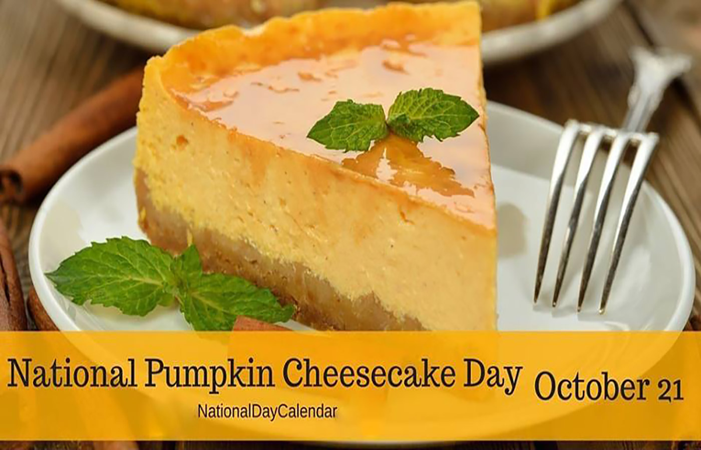 No-Bake Pumpkin Cheesecake to Celebrate the Day