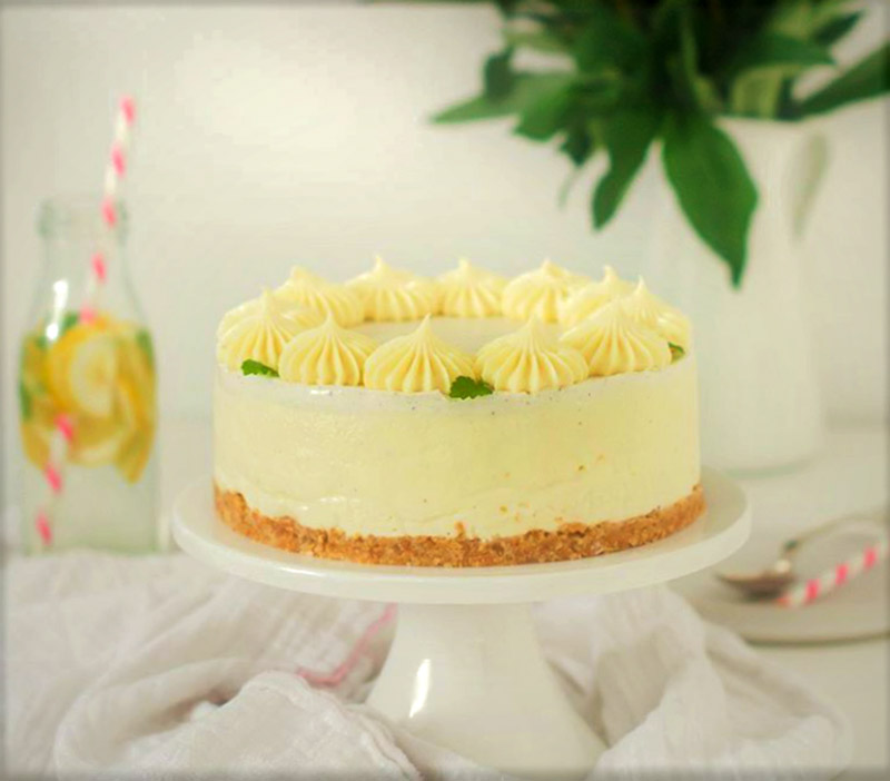 5-Ingredient White Chocolate Lemon Coconut Pie